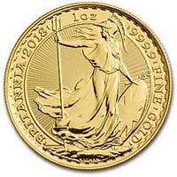 Großbritannien 2018 100 Pfund Britannia Stgl.