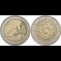 Österreich 2 Euro Republik 2018 bfr