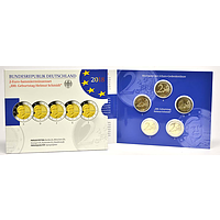 2 Euro Schmidt 2018 PP Komplettsatz 5x2 Euro Deutschland