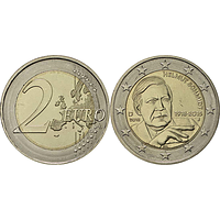 Deutschland 2018 2 Euro Helmut Schmidt bfr
