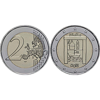Malta 2 Euro Kulturelles Erbe 2018 bfr aus Originalrolle