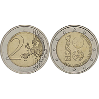 2 Euro Republik Estland 2018 bfr Estland