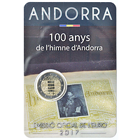2 Euro Hymne Andorras 2017 bfr Andorra