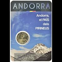 2 Euro Pyrenäen Andorra 2017 bfr
