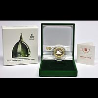 5 Euro 600 Jahre Kuppel von Santa Maria del Fiore 2018 PP Vatikan