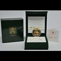 100 Euro 2018 PP Vatikan Gold