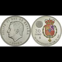 30 Euro Felipe 2018 bfr Spanien