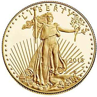 USA 2018 5 Dollar American Eagle PP