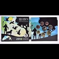 KMS Irland 2018 Stgl. / BU 3,88 Euro