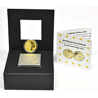 25 Euro Hugo Claus 2018 PP Belgien Gold