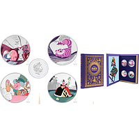 Niue 2018 8 Dollar 4x2 $ 2018 Disney - Alice Im Wunderland PP