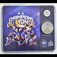 10 Euro Fußball Weltmeister 2018 bfr Frankreich