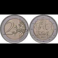 2 Euro Guillaume I. 2018 bfr Luxemburg