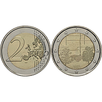 2 Euro Finnische Saunakultur 2018 bfr Finnland