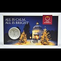 1,5 Euro Philharmoniker - Weihnachtsausgabe 2018 Stgl. Österreich