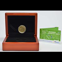 10 Euro Uni Wageningen 2018 PP Niederlande Gold