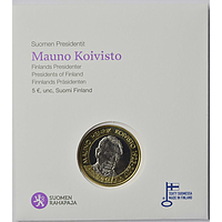 5 Euro Koivisto 2018 Stgl. Finnland Coincard