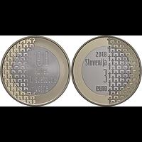 3 Euro Weltkrieg 2018 PP Slowenien