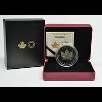 Kanada 2019 10 Dollar 30 Jahre Maple Leaf - mit schwarzem Rhodium 2 oz Stgl.