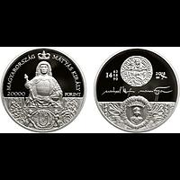 Ungarn 2018 20000 Forint König Matthias PP