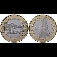 5 Euro Olavinlinna - Pihlajavesi 2018 bfr Finnland