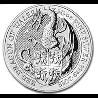 Großbritannien 2018 10 Pfund The Queen´s Beasts - Drache 10 oz Stgl.