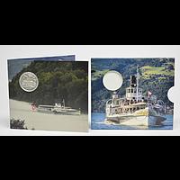 Schweiz 2019 20 Franken Dampfschiff Blümlisalp Stgl.