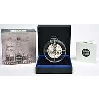50 Euro Da Vinci 2019 PP Frankreich Silber Europastern