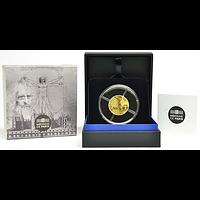 50 EuroDa Vinci 2019 PP Frankreich Gold Europastern