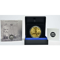 200 Euro Da Vinci 2019 PP Frankreich Gold Europastern