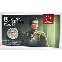 10 Euro Ritterlichkeit 2019 Stgl. Österreich Silber im Blister