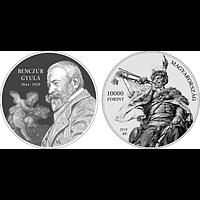Ungarn 2019 10000 Forint 175. Geburtstag Gyula Benczur (Maler) PP