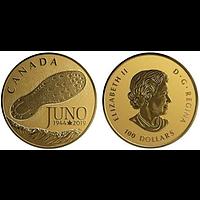 Kanada 2019 100 Dollar 75 Jahre Normandie Kampagne/Juno Beach - D-Day PP