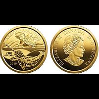 Kanada 2019 200 Dollar Symbole kanadischer Küsten - Arktis 1 oz 999,99er PP