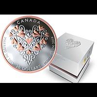 Kanada 2019 20 Dollar Glückwünsche zur Hochzeit! PP
