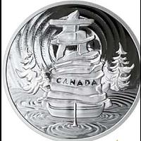 Kanada 2019 50 Dollar Symbolisches Canada 5 oz PP
