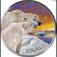 Kanada 2019 20 Dollar Der Eisbär - Canadas Fauna PP