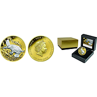 Niue 2019 100 Dollar Platypus - Australien bei Nacht PP