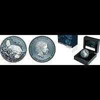 Niue 2019 1 Dollar Platypus - Australien bei Nacht PP