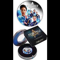 Tuvalu 2019 2 Dolar Star Trek - Discovery Crew 2 oz PP