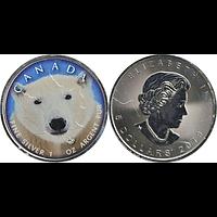 Kanada 2019 5 Dollar ML - Canada´s Wildlife Eisbär Stgl.