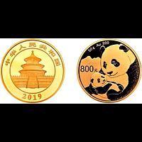 China 2019 800 Yuan Goldpanda PP