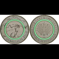 5 Euro Gemäßigte Zone 2019 A bfr Deutschland