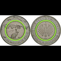 5 Euro Gemäßigte Zone 2019 G bfr Deutschland