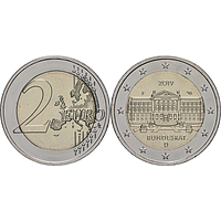 2 Euro Bundesrat 2019 F bfr Deutschland