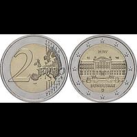 2 Euro Bundesrat 2019 G bfr Deutschland