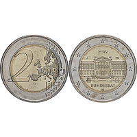 2 Euro Bundesrat 2019 J bfr Deutschland