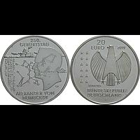 20 Euro Humboldt 2019 bfr Deutschland