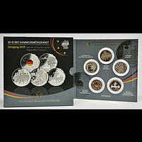 100 Euro 5x20 Euro Kompletset 2019 PP Deutschland