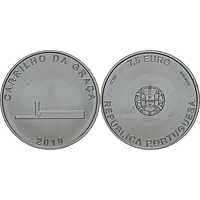 7,5 Euro Carrilho Da Graca 2019 bfr Portugal